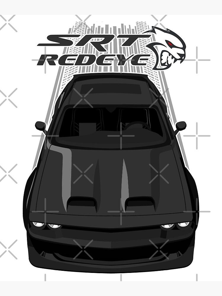 Challenger Hellcat Redeye - Black by V8social