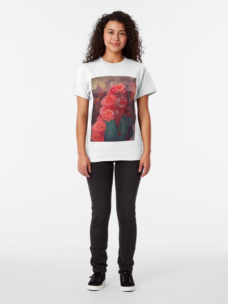 Alternate view of Flower spell Classic T-Shirt