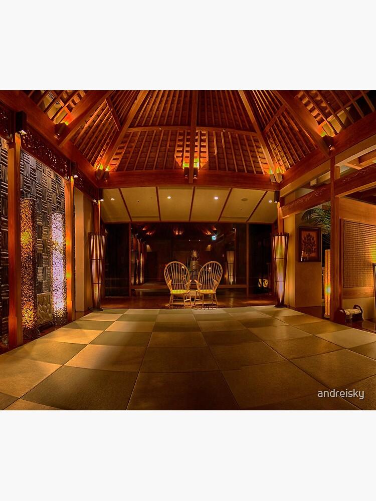 Ryokan Hakone Ginyu, interior by andreisky