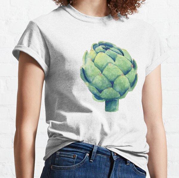 Artichoke in watercolor Classic T-Shirt