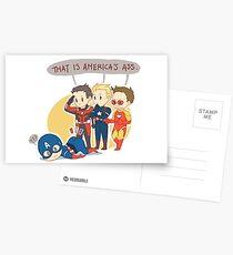 America's Ass Postkarten