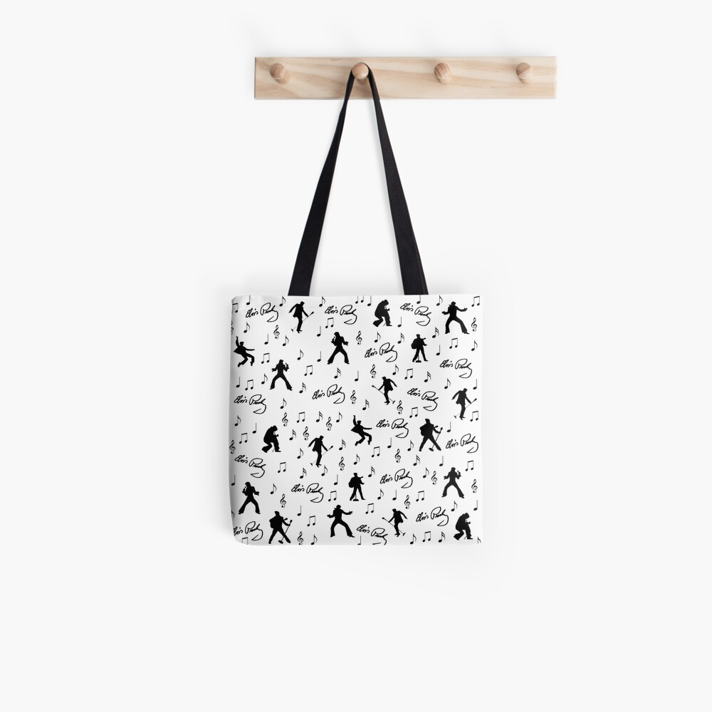 Elvis Presley pattern Tote Bag