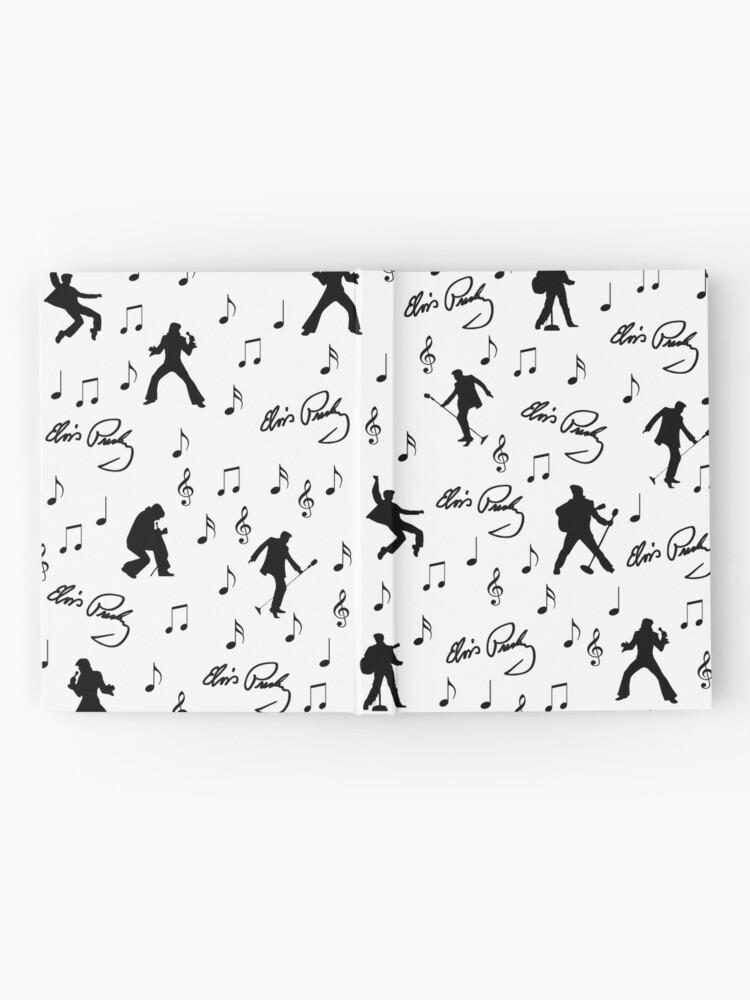 Alternate view of Elvis Presley pattern Hardcover Journal