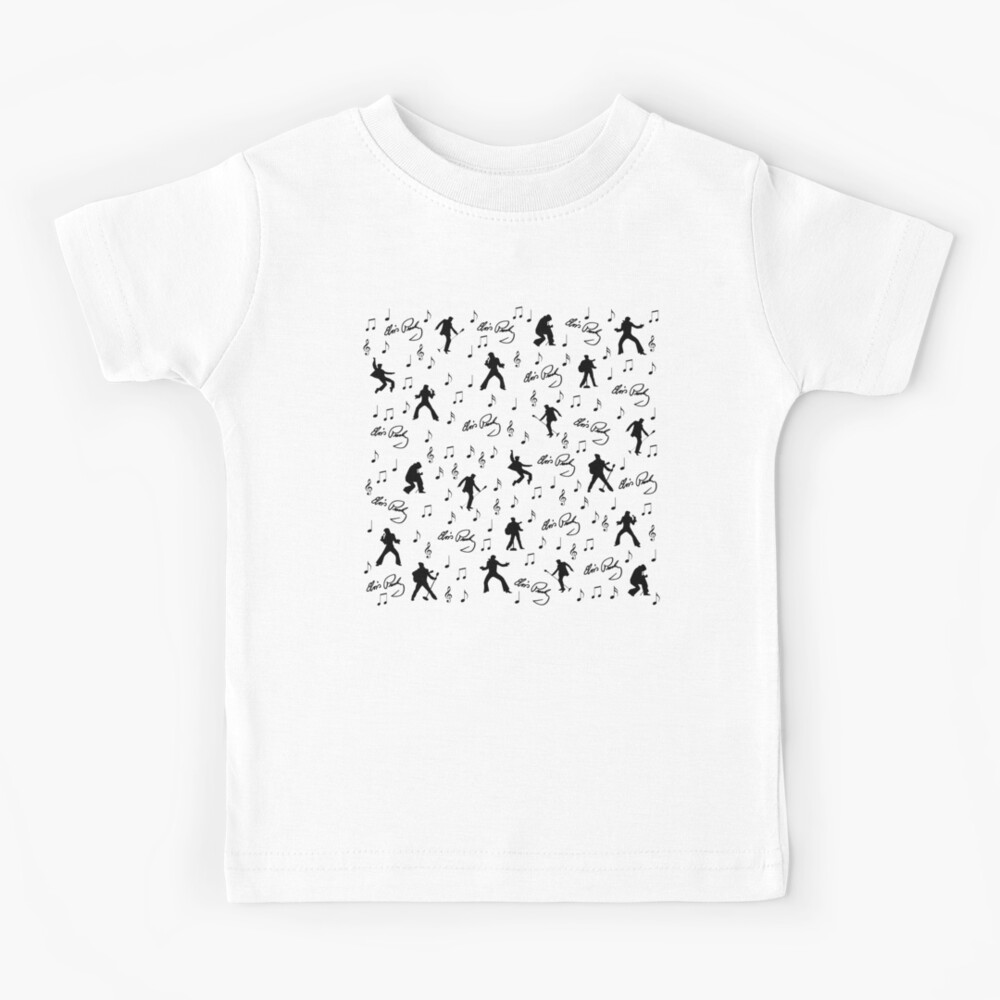Elvis Presley pattern Kids T-Shirt