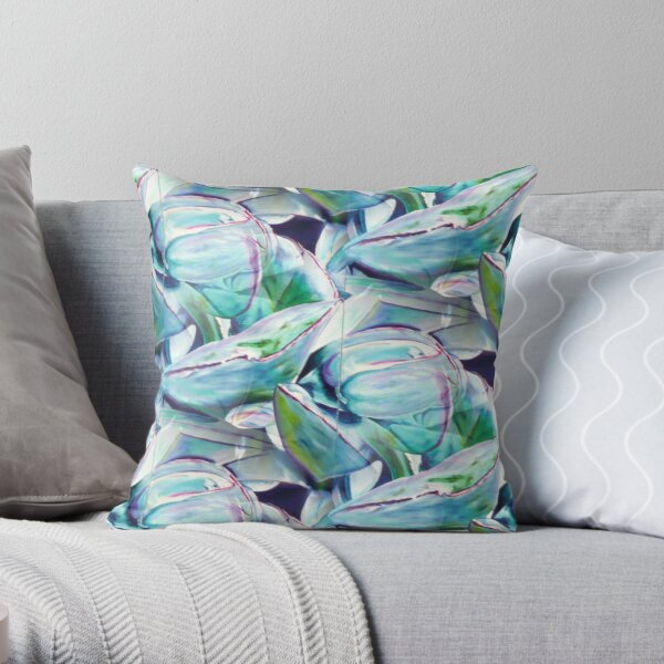 Cotyledon Orbiculata  Throw Pillow