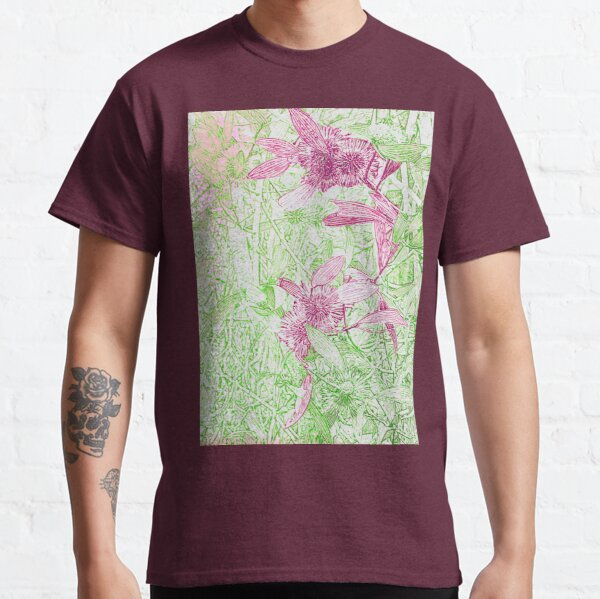 Hakea, Pink and Green Classic T-Shirt