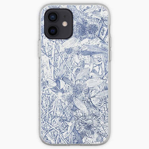 Hakea, Blue iPhone Soft Case