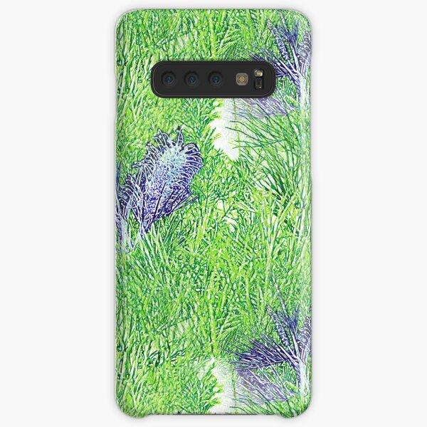 Green and Blue Grevillea Samsung Galaxy Snap Case