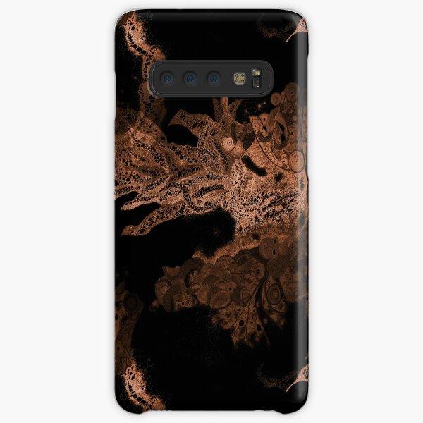 Carrickalinga Waves Copper Samsung Galaxy Snap Case