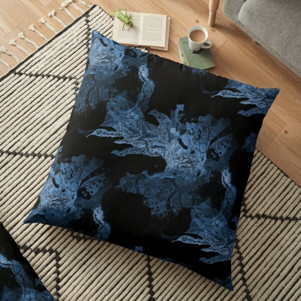 Carrickalinga Waves Indigo Floor Pillow