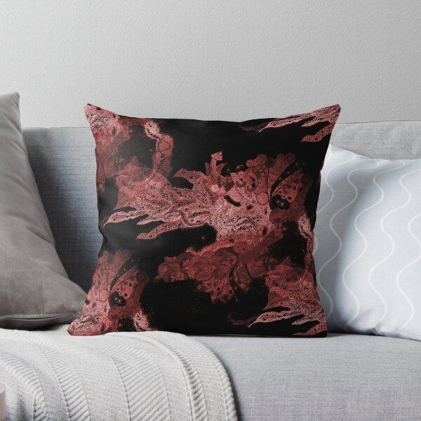 Carrickalinga Wave Red Throw Pillow