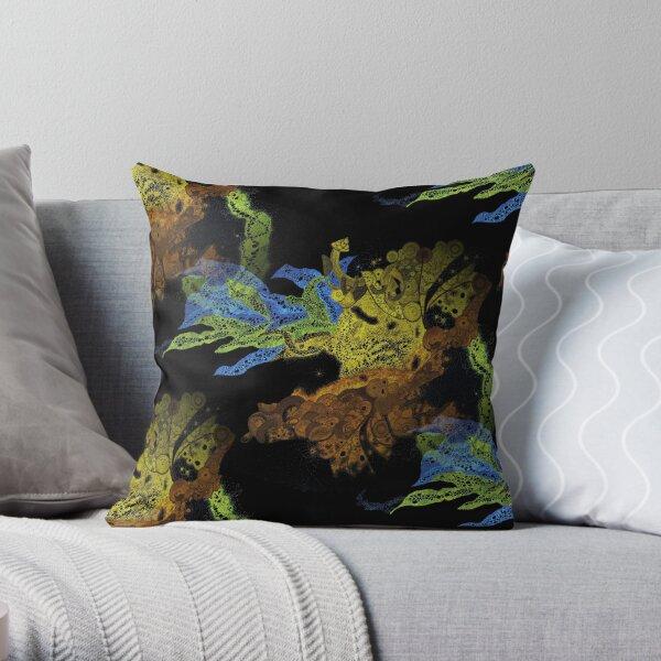 Carrickalinga Waves Invert Throw Pillow