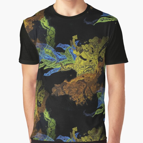 Carrickalinga Waves Invert Graphic T-Shirt