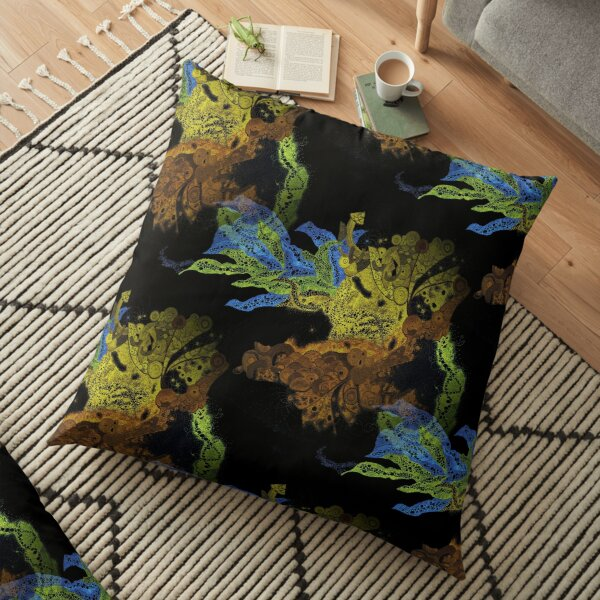 Carrickalinga Waves Invert Floor Pillow