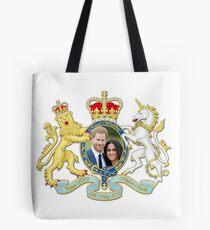 Prinz Harry und Meghan Markle Tote Bag