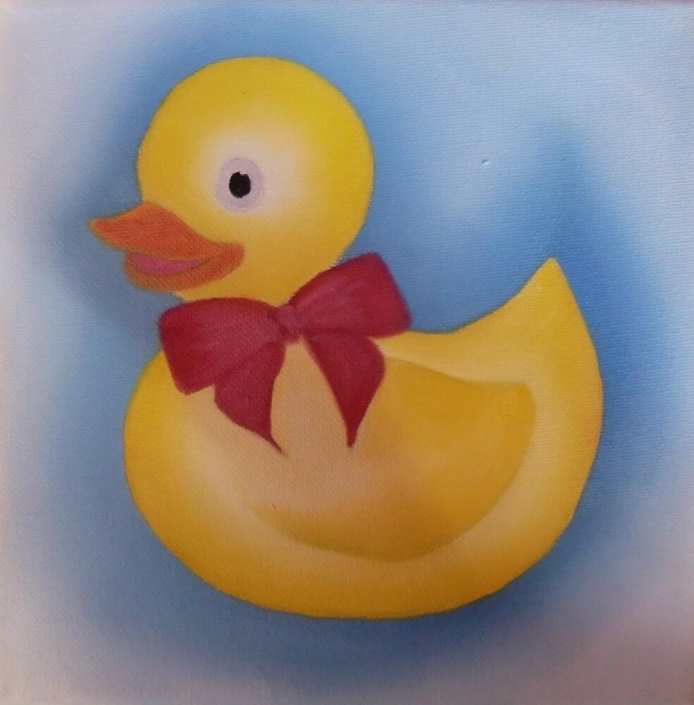 Bath duck. by Lianne Oost