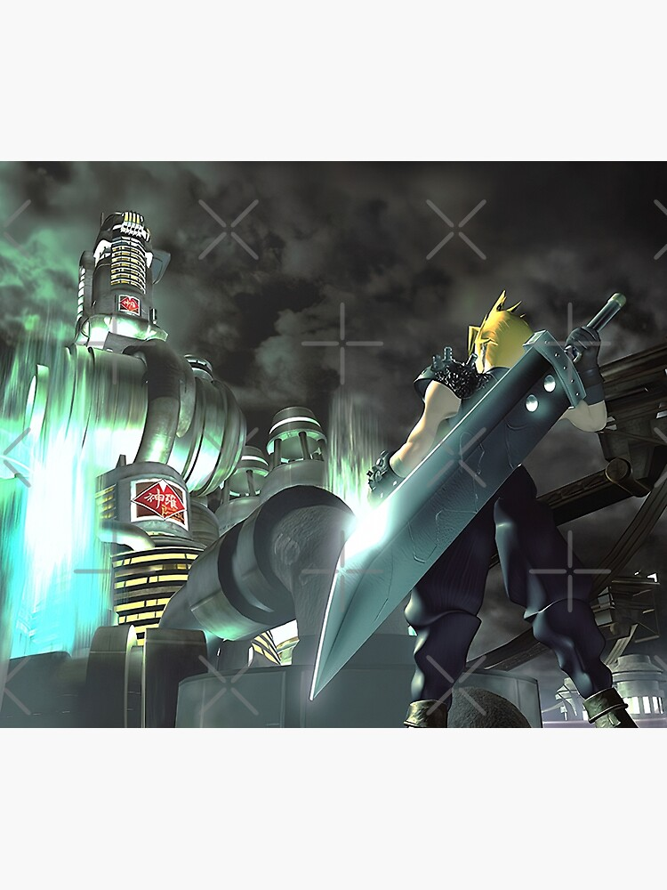 Cloud Strife [Disc Change] by GlitchBob452