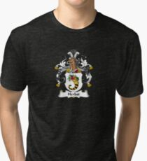 Herbst Coat of Arms - Family Crest Shirt Tri-blend T-Shirt