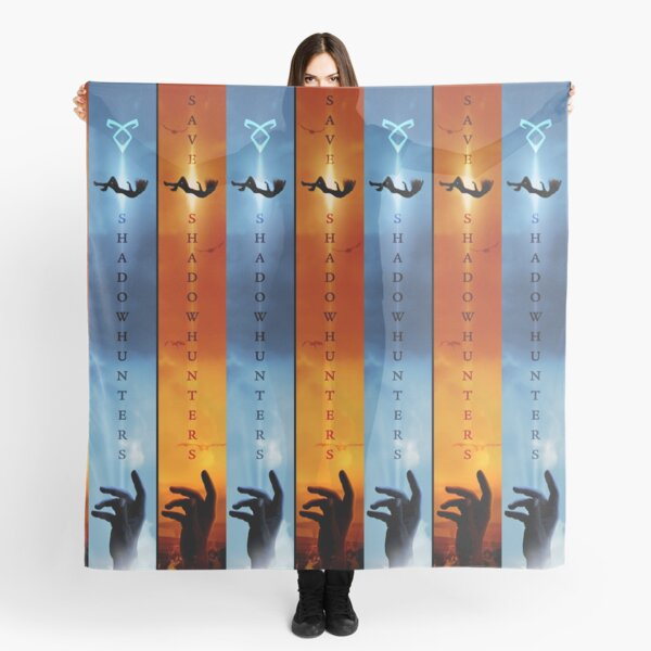 Save Shadowhunters - IconicNephilim NYC Billboard Design - Middle Scarf