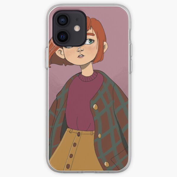 Autumn Girl iPhone Soft Case