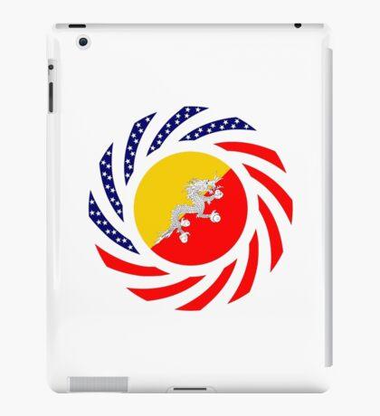 Bhutanese American Multinational Patriot Flag Series iPad Case/Skin