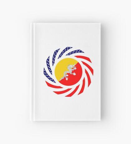 Bhutanese American Multinational Patriot Flag Series Hardcover Journal