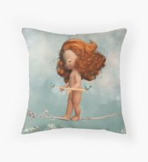 Frayed Knot Throw Pillow