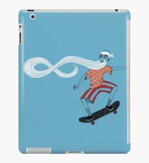 The Ancient Skater, Forever Skate ukiyo e style iPad Case/Skin
