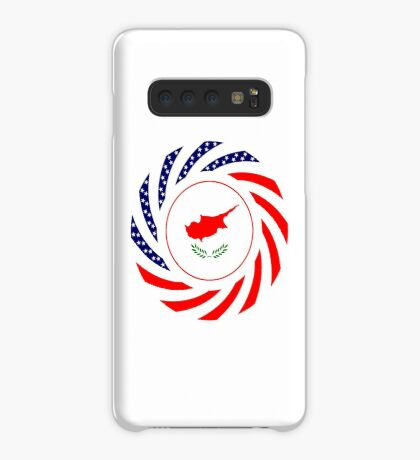 Cypriot American Multinational Patriot Flag Series Case/Skin for Samsung Galaxy