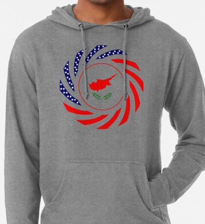 Cypriot American Multinational Patriot Flag Series Lightweight Hoodie