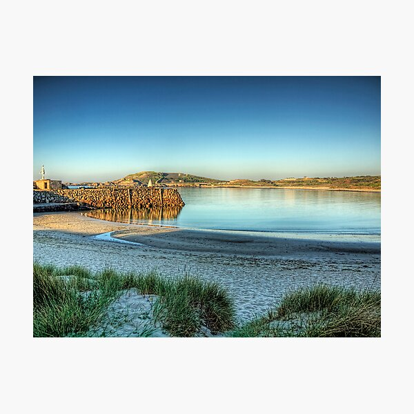 Douglas Quay - Alderney Photographic Print