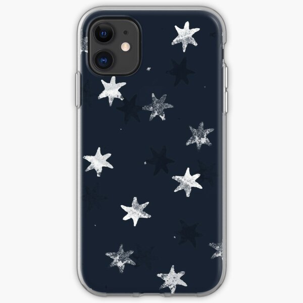 Stamped Star iPhone Soft Case