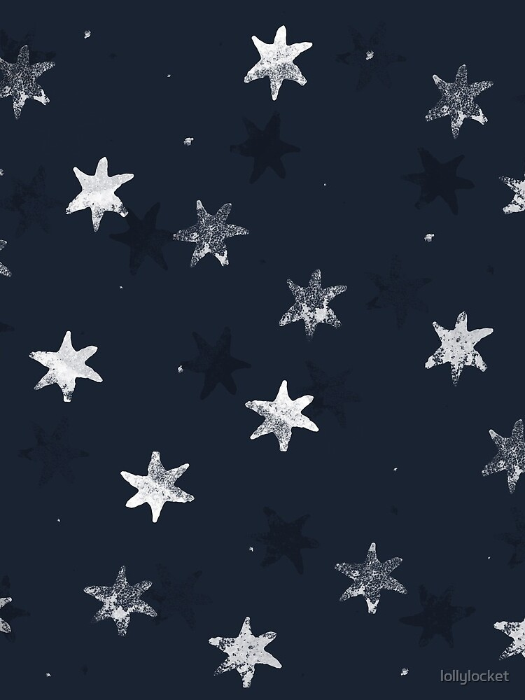 Gestempelter Stern von lollylocket