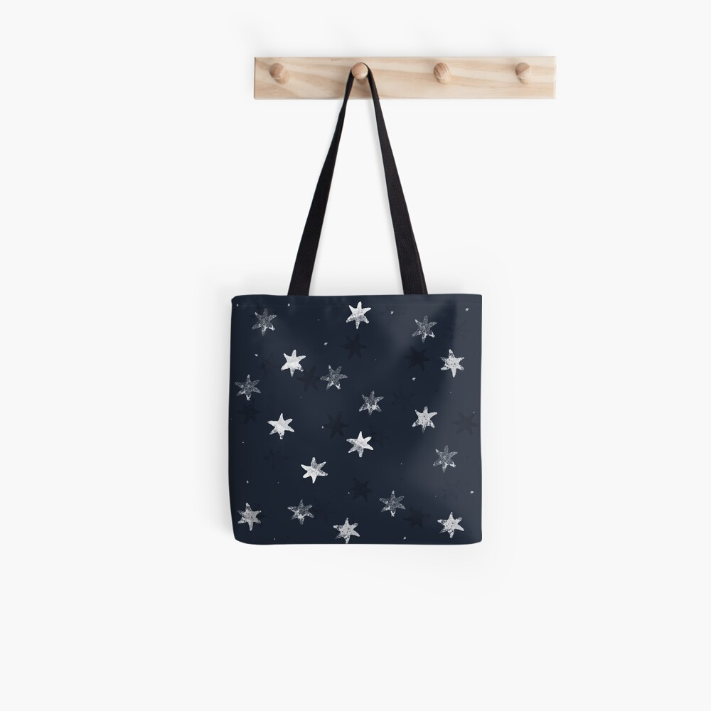 Stamped Star Tote Bag
