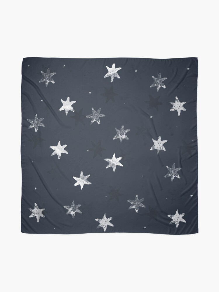 Alternate view of Stamped Star Scarf