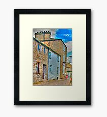 Dent Cottages Framed Print
