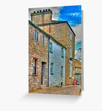 Dent Cottages Greeting Card