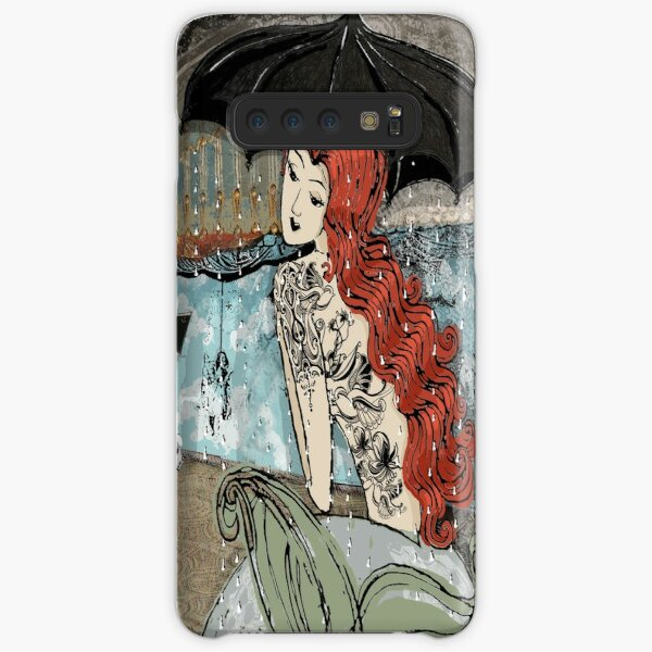 Girl with the birdie tattoo Samsung Galaxy Snap Case