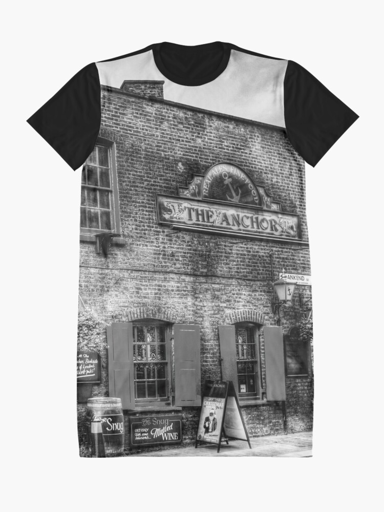 Alternative Ansicht von The Anchor Pub London T-Shirt Kleid