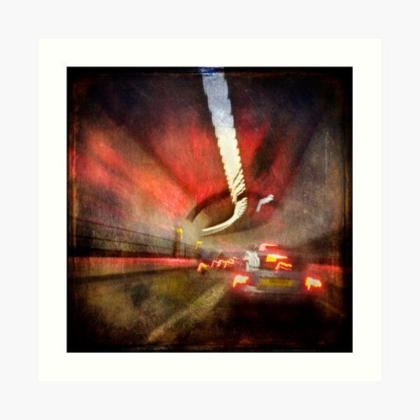 Dartford Tunnel Art Print