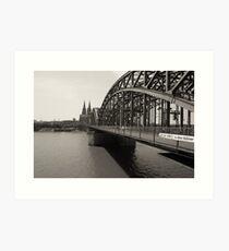 Köln Art Print