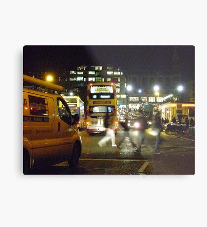 Night in the City (Edinburgh) Metal Print