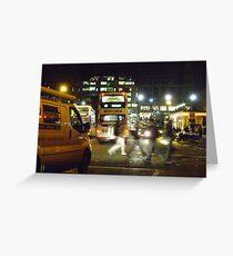 Night in the City (Edinburgh) Greeting Card