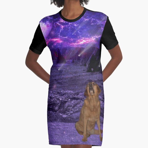 Duncansby Head in an alternative reality - a Willow in Wonderland adventure Graphic T-Shirt Dress