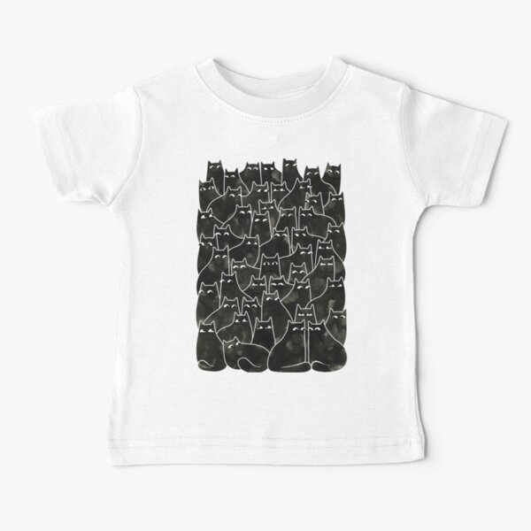 Suspicious Cats Baby T-Shirt