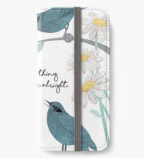 Vinilo o funda para iPhone Tres pájaros pequeños