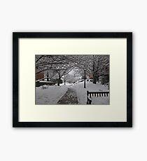 Palmer Square, Princeton NJ  Framed Print