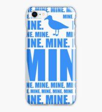 Mine in blue iPhone Case/Skin