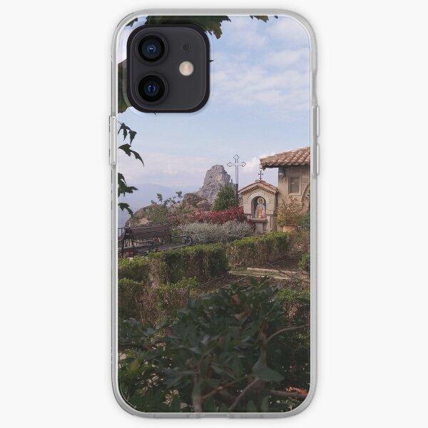 Church garden iPhone Soft Case