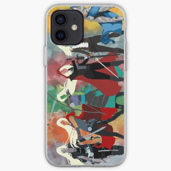 Throne of Glass Series Watercolor iPhone Soft Case